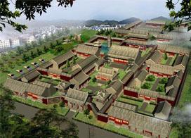 古建筑效果图:古建寺庙设计案例图片展示
