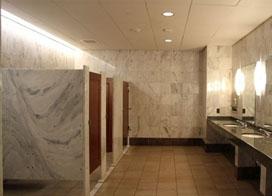 一组美国公共洗手间效果图展示