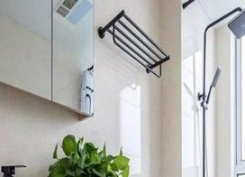 一组实用的卫生间毛巾架图片展示