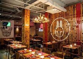 一组餐厅墙绘效果图片欣赏,不一样的用餐环境