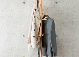 10款实木衣帽架图片