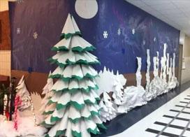国外有创意的幼儿园教室装修效果图片欣赏