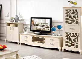 13张最新欧式客厅电视柜图片,喜欢就装,没毛病!