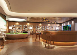 20款图书馆设计效果图片欣赏