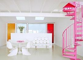 双层公寓室内楼梯设计图,有品位又有创意!