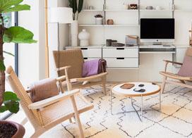 90平米房子超时尚室内装修样板房