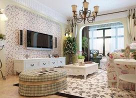 20款客厅电视背景墙装修样板房图片