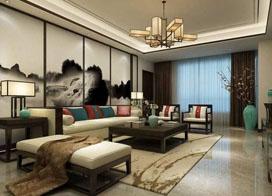 中式客厅沙发背景墙设计,儒雅又时尚