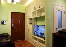 25平米单身公寓室内设计效果图片欣赏