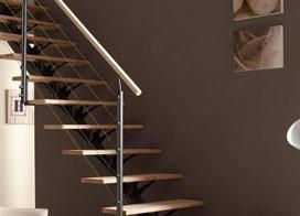 不锈钢楼梯扶手图片和实木楼梯扶手图片