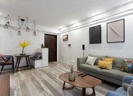 恒大綠洲裝修樣板房裝修效果圖片