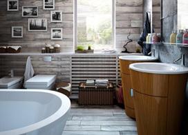 裸露砖墙,小型公寓装修效果图
