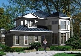 几款欧式别墅外观设计效果图展示