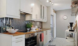 开放式厨房装修与美食更配