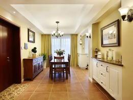 135平三室兩廳現代美式樣板間
