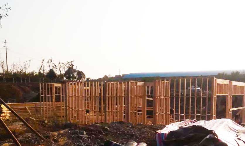 现代木结构建筑和传统木结构建筑相比,从材料,结构,施工工艺到辅助