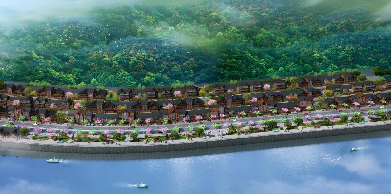 设计有道——剑河县城东江北岸文化创意园木结构建筑项目