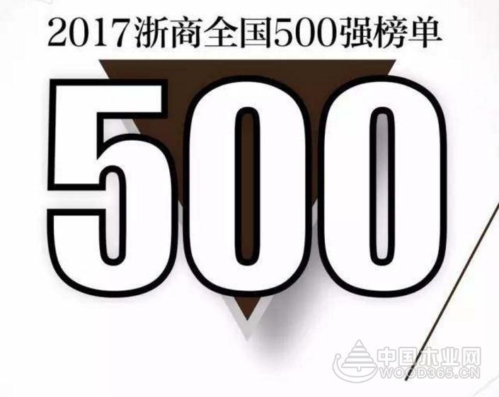 """德华集团蝉联""""2017浙商全国500强""""企业,连续9年上榜!"""