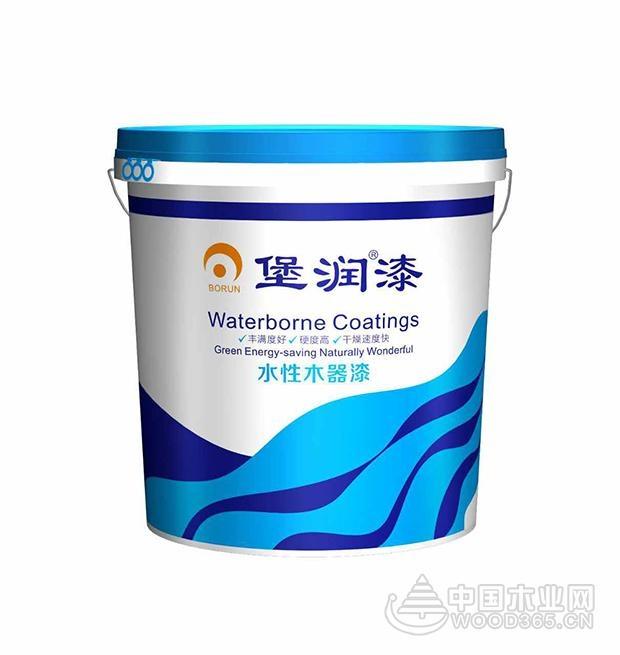 堡润家具漆开发3大系列水性漆满足不同家具涂装需求