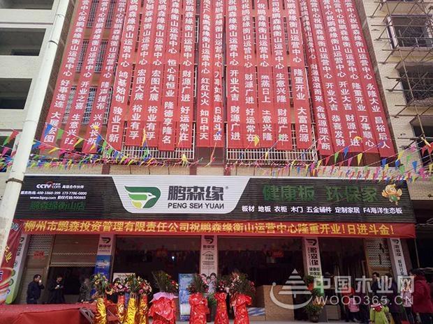 热烈祝贺鹏森缘湖南衡山运营中心盛大开业!