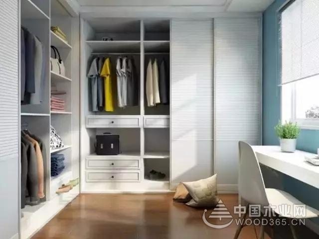 森鹿板材:衣柜这样设计,完全perfect