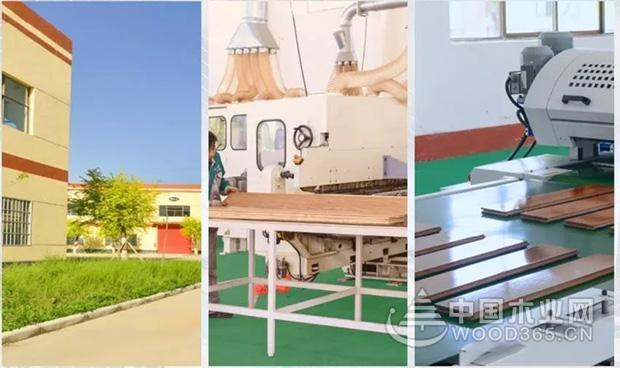 普瑞特机械:地板行业UV滚涂生产线现场
