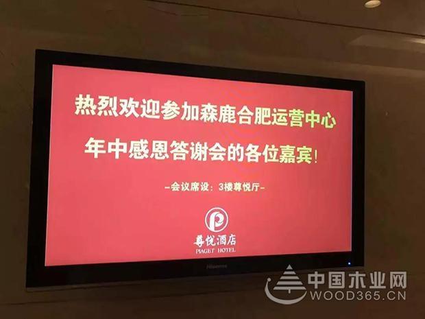 森鹿品牌推广暨合肥运营中心年中感恩答谢会圆满落幕