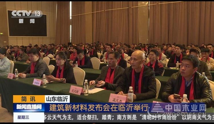 CCTV-13央視新聞頻道:千山木業大豆膠板材成建筑環保新材料