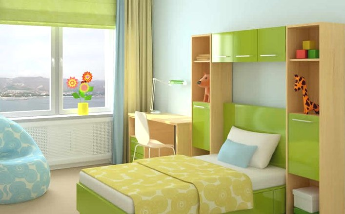 神奇的6平米小卧室装修1