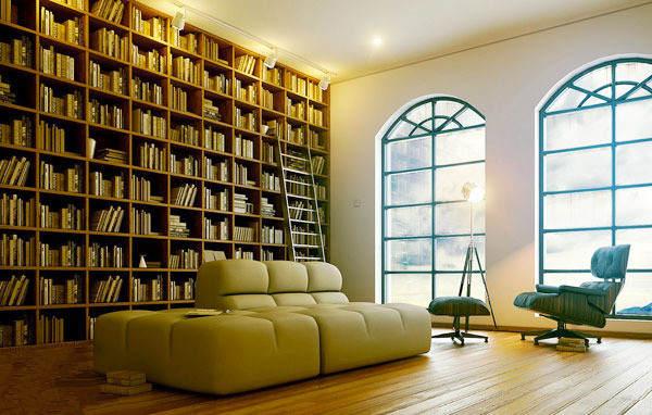 书房装修有技巧 明朗舒适学习好