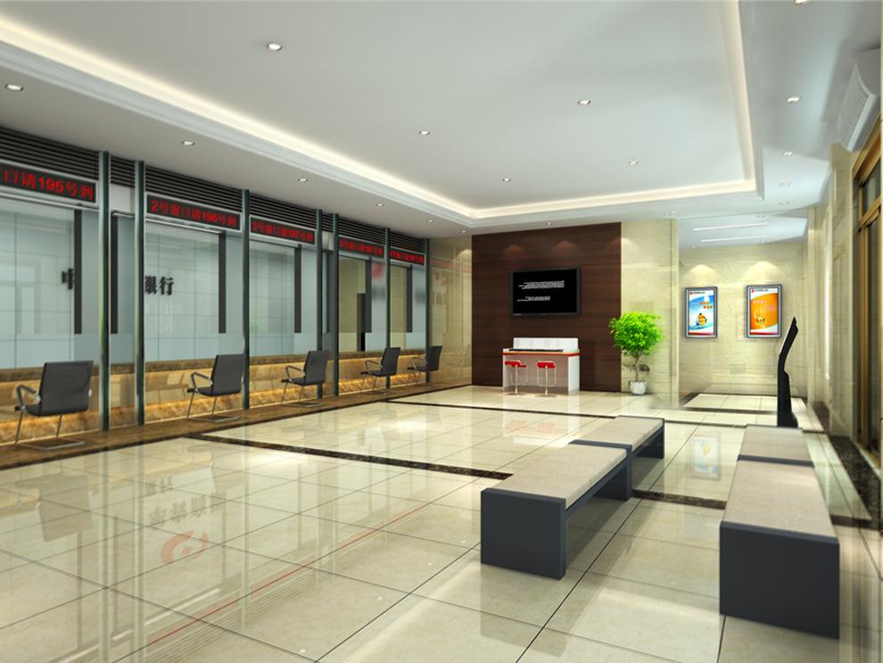 银行装修设计特点-中国木业网