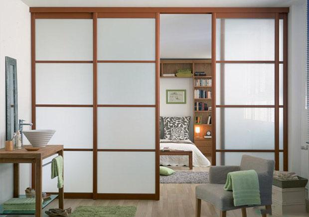 住宅客厅玻璃隔断