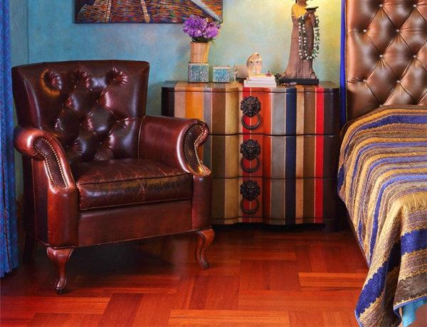 多种色彩混搭风格别墅装修效果图6