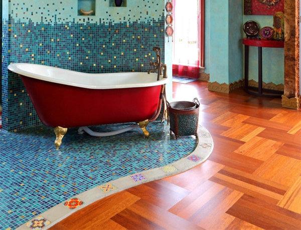多种色彩混搭风格别墅装修效果图12