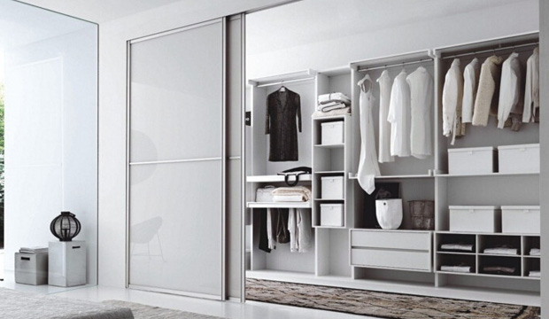 小户型首选:定制入墙式衣柜 2