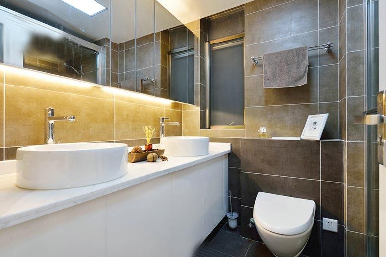 洗手间效果图:卫生间装修效果图欣赏1