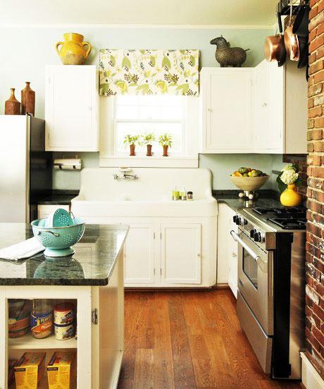 農村房屋設計圖大全:農村整體廚房設計效果圖