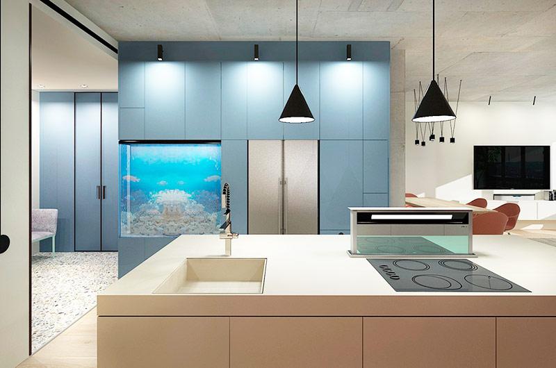 色彩点缀温暖,120平简约风格三室两厅装修效果图