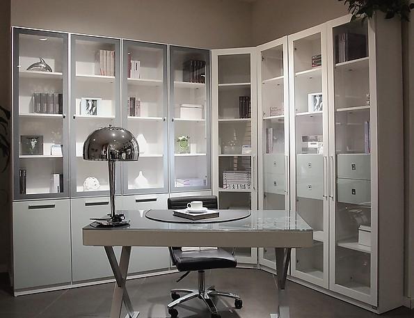 定做不同风格的玻璃书柜
