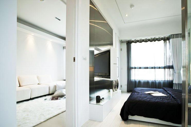 20款实用设计,客厅卧室隔断装修图片