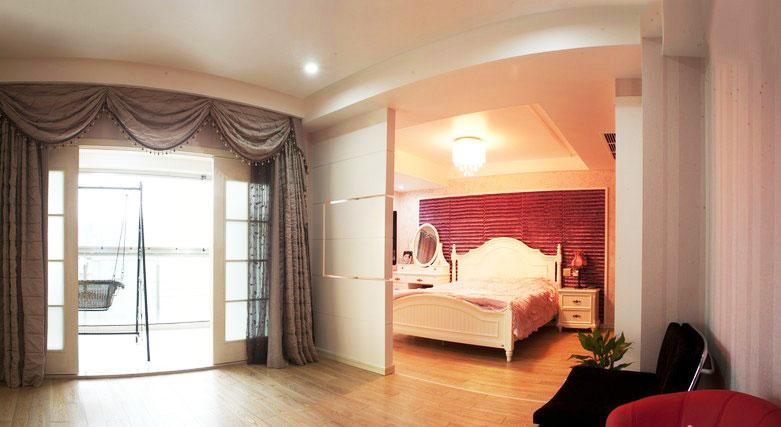 20款實用設計,客廳臥室隔斷裝修圖片