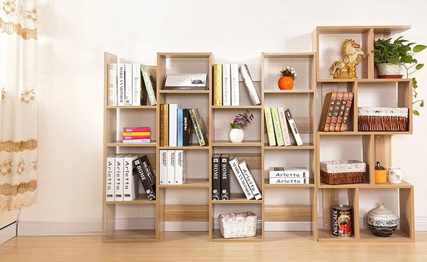 可能有人会质疑:实木作为书柜层板,不是容易弯曲变形吗?