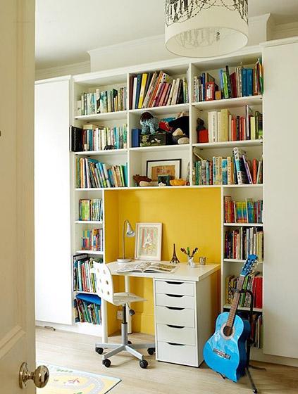 11个阁楼小书房装修效果图9