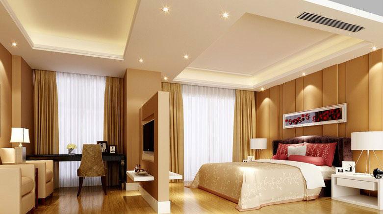 半開放式的空間:客廳臥室隔斷設計