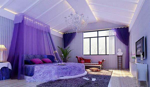 卧室吊顶装修装饰图片 让你看着星星入梦