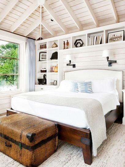10张地中海卧室吊顶效果图