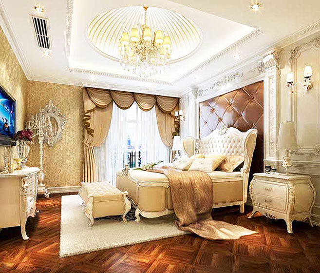 21张奢华豪华范欧式卧室效果图大全