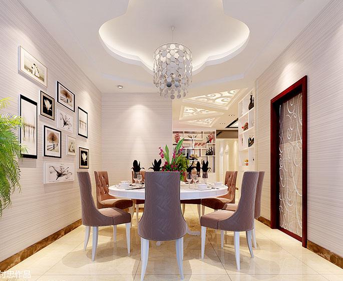 10个餐厅吊顶设计图片