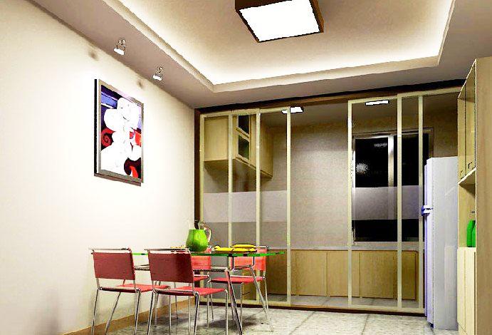13张厨房隔断门设计效果图-中国木业网