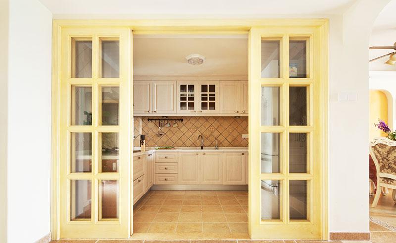 13张厨房隔断门设计效果图